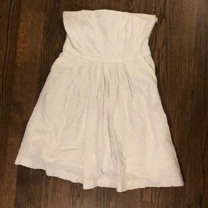 Gap white lace sundress with pockets